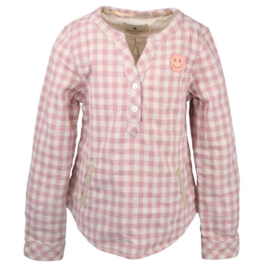 Scotch R'belle Shirt Checked Pink Pink