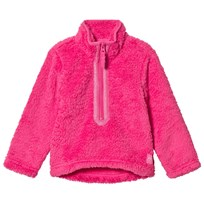 Tom Joule Half Zip Fleece Sweater Pink TRUE PINK