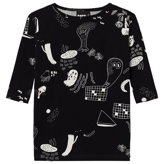 Papu Night Boxy Tunic Night In The Forest