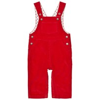 Petit Bateau Dungarees Red Red