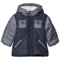 Absorba Blue Denim and Nylon Padded Coat with Fleece Lining 04