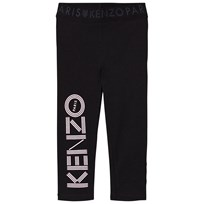 Kenzo Branded Leggings Black 02