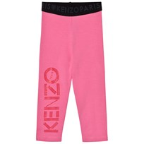Kenzo Pink and Red Branded Leggings 320