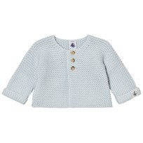 Petit Bateau Knit Cardigan Light Blue Blue