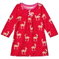 Hatley Red Deer Print Nightdress Red