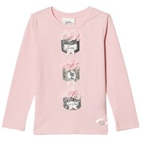 Le Chic Pink Powder Puff Long Sleeve Tee 215