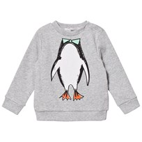 Stella McCartney Kids Penguin Print Tröja Grå 1461
