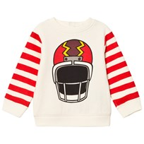 Stella McCartney Kids Off-White Helmet Print Sweatshirt 9232