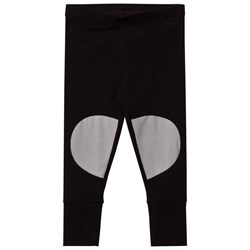 Papu Patch Leggings Black Grey