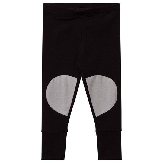 Papu Patch Leggings Black Grey Black/ Grey
