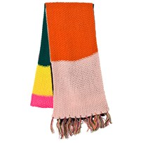 Le Big Multi Stripe Knitted Scarf