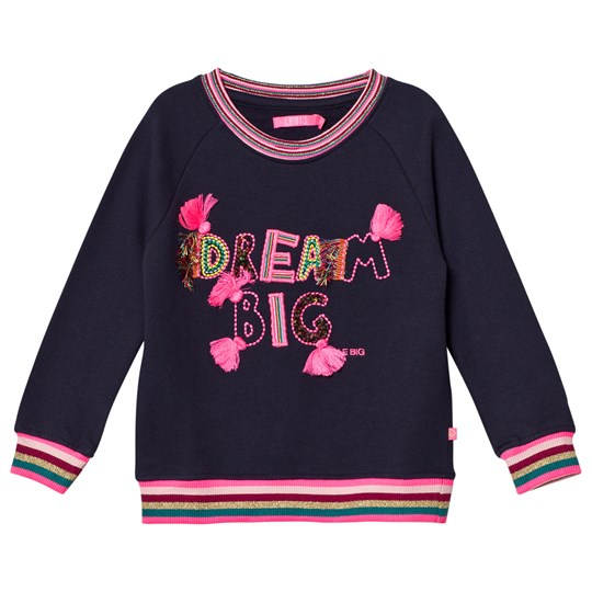 Le Big Navy Dream Big Stripe Detail Sweater 695