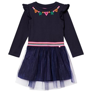 Image of Le Big Navy Ghiselle Embroidered Dress 146-152 (12 years) (2743762061)