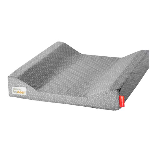 Done by Deer Balloon Changing Pad Grey Balloon Grey