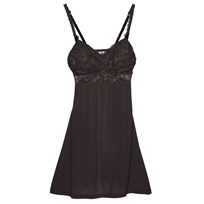 Cosabella Maternity Never Say Never™ Mommie™ Babydoll Graphite Black