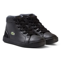 Lacoste Explorateur Lace Casual Trainers Black Black