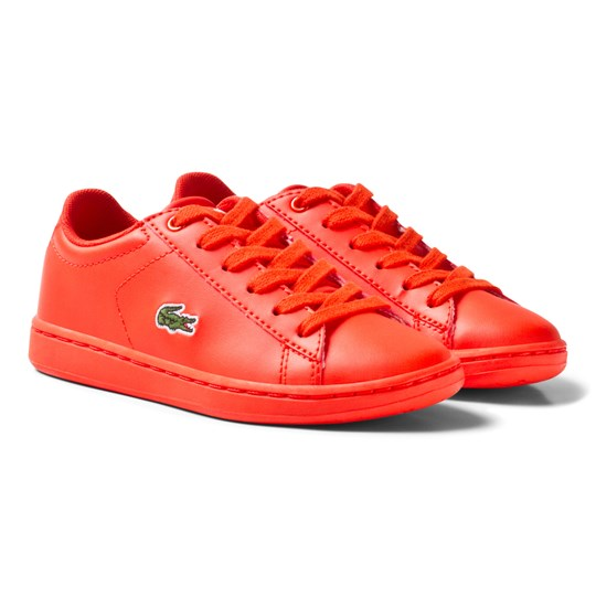 Lacoste Carnaby Evo 317 5 SPC Trainers Red Red
