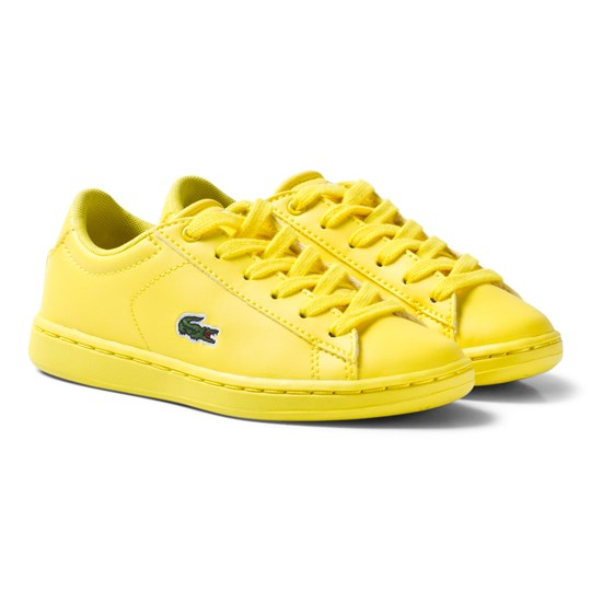 Lacoste Carnaby Evo 317 5 SPC Trainers Yellow Yellow