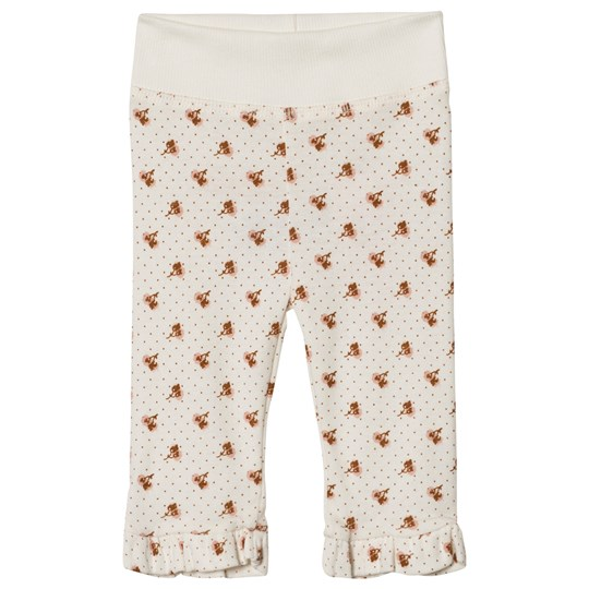 Noa Noa Miniature Print Leggings Chalk Chalk