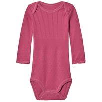 Noa Noa Miniature Baby Body,long Sleeve Red Violet Red Violet