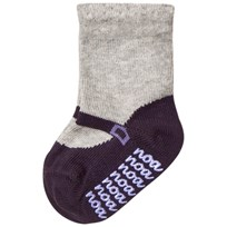 Noa Noa Miniature Hosiery,ankle Socks Light Grey Melange Light Grey Melange