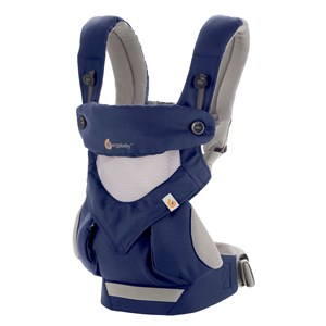 Image of Ergobaby Baby Carriers: Performance 360 - Cool Air French Blue (3020093083)