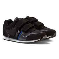 BOSS Black Velcro Branded Trainers 09B