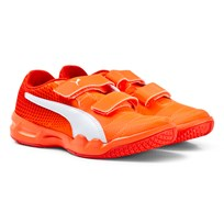 Puma Veloz Indoor Ng V Jr Orange Oransje