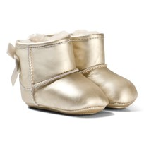 UGG Gold Jesse Bow II Metallic Gold