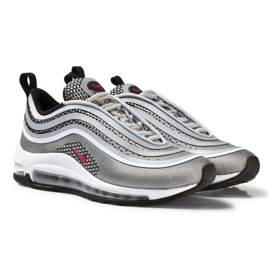 online store 9af47 d29d7 ... czech nike silver nike air max 97 ultra 17 junior shoe metallic silver  varsity red a3424
