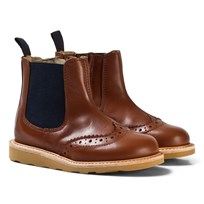 Young Soles Chestnut Leather Francis Boots CHESTUST BROWN LEATHER