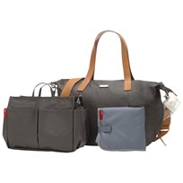Storksak Noa Changing Bag Grey Black