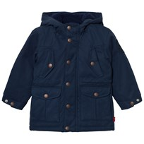 Levis Kids Navy Padded Hooded Parka with Full Teddy Lining 48