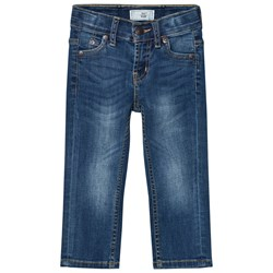 Levi's Kids Blue Mid Wash 511 Slim Fit Jeans with Adjustable Waistband