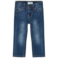 Levis Kids Blue Mid Wash 511 Slim Fit Jeans with Adjustable Waistband 46