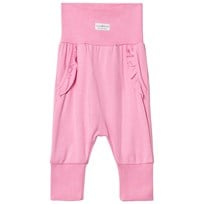 Nova Star Pink Flounce Baby Trousers Pink