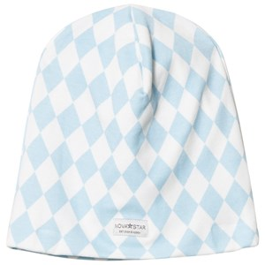 Image of Nova Star Blue Square Beanie NB (0-3m) (2743699055)