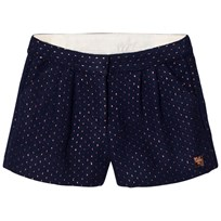 Carrément Beau Navy/Rose Gold Shorts 84N