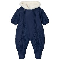 Carrément Beau Navy Teddy Lined Coverall 845