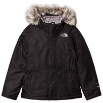 The North Face Black Greenland Down Fur Hooded Jacket JK3 - TNF Black
