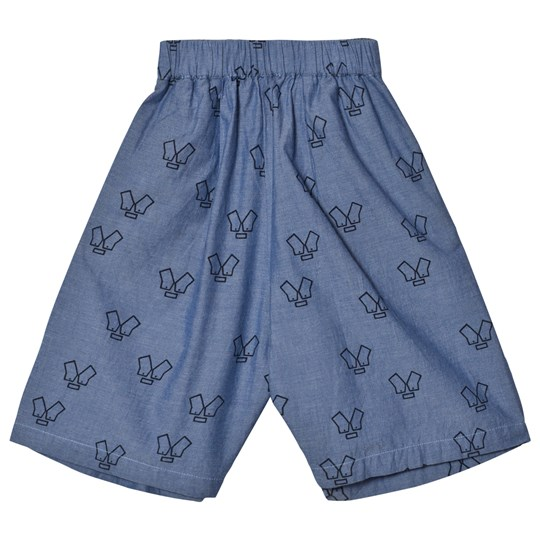 Wynken Chambray Monster Culottes Chambray
