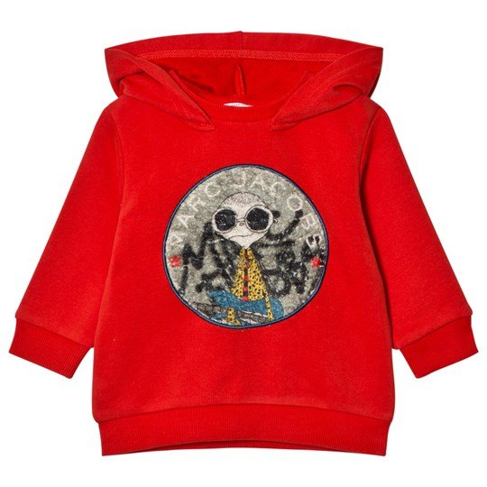 Little Marc Jacobs Red Mr Marc Hoodie 997