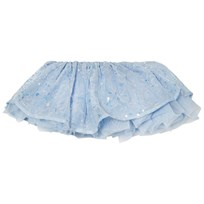 Mirella Blue Sequin Butterfly Tutu Skirt Blu