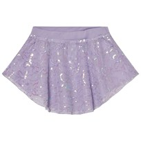 Mirella Lilac Sequin Butterfly Tulle Skirt LLC