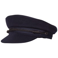 Les Coyotes De Paris Laurie Sailor Cap Navy Navy