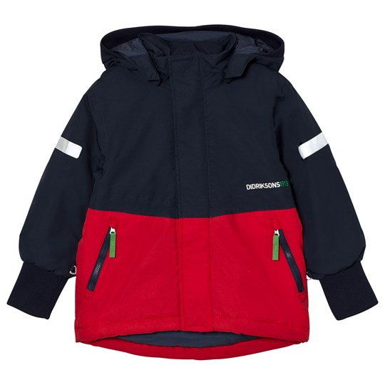 Didriksons Härje Kid´s Jacket Red Red