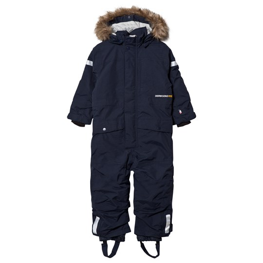 Didriksons Björnen Kid´s Coverall Navy Navy