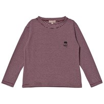 Emile et Ida Striped Tee Prune Prune
