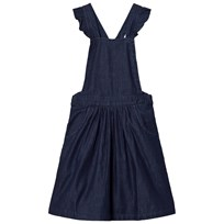 Emile et Ida Chambray Dress Navy Chambray