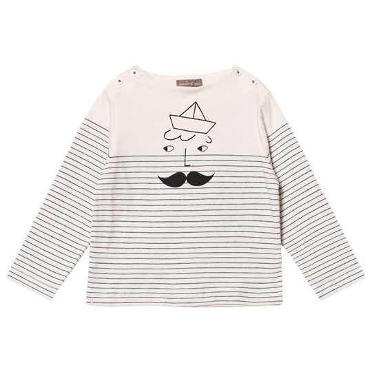 Emile et Ida Sailor Stripes Tee Rayure